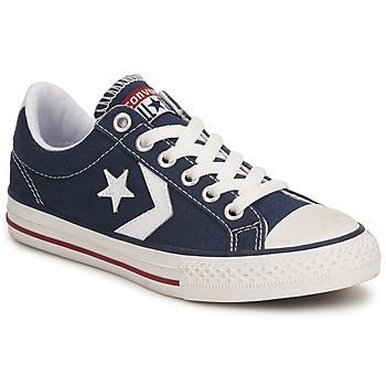 Skor Barn Sneakers Converse STAR PLAYER CANVAS OX Marin