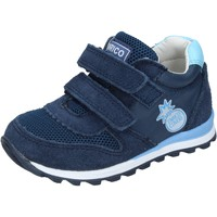 Skor Pojkar Sneakers Enrico Coveri sneakers tessuto camoscio Blu