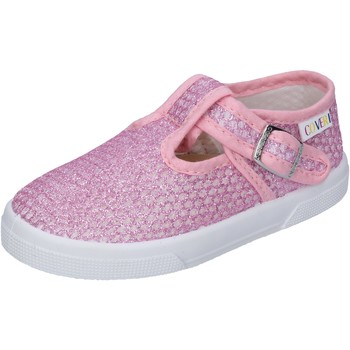Skor Flickor Sneakers Enrico Coveri sneakers tessuto Rosa
