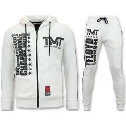 textil Herr Sportoverall Local Fanatic Tränings TMT Floyd Mayweather Set Vit