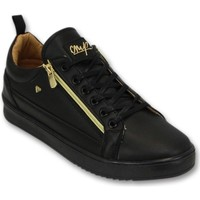 Skor Herr Sneakers Cash Money Sneaker CMP Gold CMS Svart