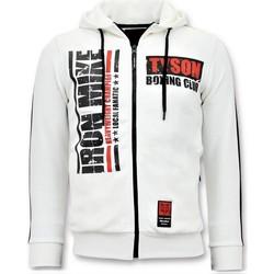 textil Herr Sweatshirts Local Fanatic Training Vest Iron Mike Tyson Boxing Vit