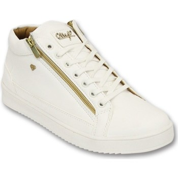 Skor Herr Sneakers Cash Money Sneaker Bee D Vit