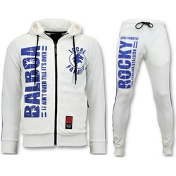 textil Herr Sportoverall Local Fanatic S Träningsoverall Rocky Balboa Sports Pack Vit