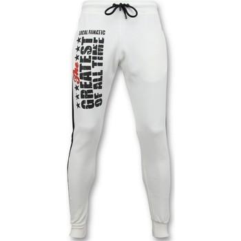 textil Herr Joggingbyxor Local Fanatic Sweat Pants Muhammad Ali Training Pants Vit