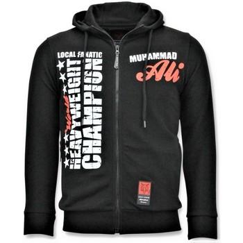 textil Herr Sweatshirts Local Fanatic Sport Vest Muhammad Ali Champion Print Svart