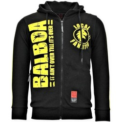 textil Herr Sweatshirts Local Fanatic S Jogging Vest Rocky Balboa Boxing Svart