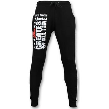 textil Herr Joggingbyxor Local Fanatic Sweat Pants Muhammad Ali Training Pants Svart