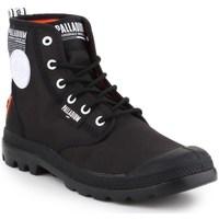 Skor Herr Boots Palladium Manufacture Pampa Lite Overlab Svarta