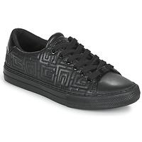 Skor Dam Sneakers Guess GOLDENN Svart