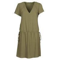 textil Dam Korta klänningar Ikks BR30015 Kaki