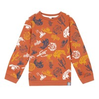 textil Pojkar Sweatshirts 3 Pommes 3R15065-622-J Orange