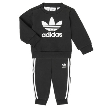 textil Barn Set adidas Originals CREW SET Svart