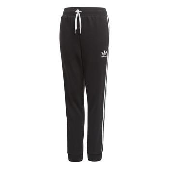 textil Barn Joggingbyxor adidas Originals TREFOIL PANTS Svart