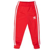 textil Barn Joggingbyxor adidas Originals SST TRACKPANT Röd