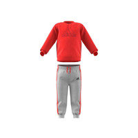 textil Barn Set adidas Performance MH LOG JOG FL Röd / Grå