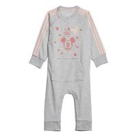 textil Flickor Pyjamas/nattlinne adidas Performance INF DY MM ONE Vit