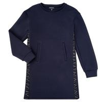 textil Flickor Korta klänningar Emporio Armani 6H3A07-1JDSZ-0920 Marin