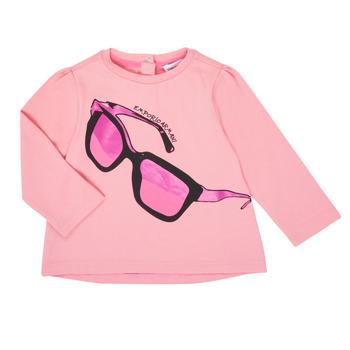 textil Flickor Långärmade T-shirts Emporio Armani 6HET02-3J2IZ-0315 Rosa