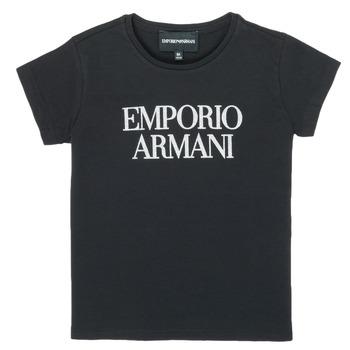 textil Flickor T-shirts Emporio Armani 8N3T03-3J08Z-0999 Svart
