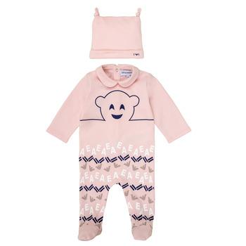 textil Flickor Pyjamas/nattlinne Emporio Armani 6HHV08-4J3IZ-0355 Rosa