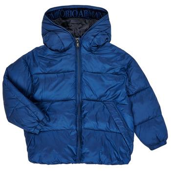 textil Pojkar Täckjackor Emporio Armani 6H4BF9-1NLYZ-0975 Marin