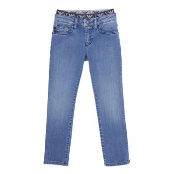 textil Pojkar Stuprörsjeans Emporio Armani 6H4J17-4D29Z-0942 Blå