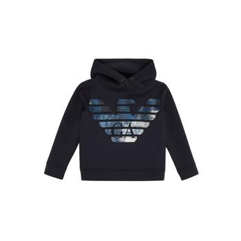 textil Pojkar Sweatshirts Emporio Armani 6H4MA9-1JDSZ-0920 Marin