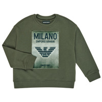 textil Pojkar Sweatshirts Emporio Armani 6H4MM1-4J3BZ-0564 Kaki
