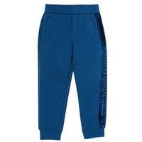textil Pojkar Joggingbyxor Emporio Armani 6H4P84-1JDSZ-0975 Marin