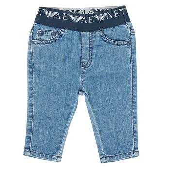 textil Pojkar Stuprörsjeans Emporio Armani 6HHJ07-4D29Z-0942 Blå