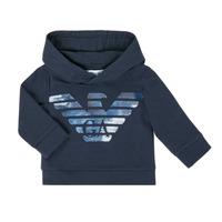 textil Pojkar Sweatshirts Emporio Armani 6HHMA9-4JCNZ-0922 Marin