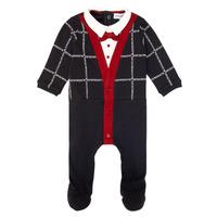 textil Pojkar Pyjamas/nattlinne Emporio Armani 6HHD12-4J3WZ-F912 Marin