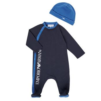 textil Pojkar Pyjamas/nattlinne Emporio Armani 6HHV12-4J3CZ-0922 Marin