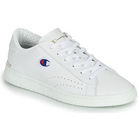 Skor Dam Sneakers Champion COURT CLUB PATCH Vit / Beige