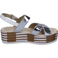 Skor Dam Sandaler Tredy's sandali pelle sintetica Argento