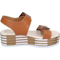 Skor Dam Sandaler Tredy's sandali pelle sintetica Marrone
