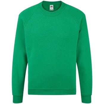 textil Barn Sweatshirts Fruit Of The Loom 62039 Heather Green