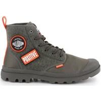 Skor Herr Höga sneakers Palladium Manufacture Pampa HI Change U Oliv