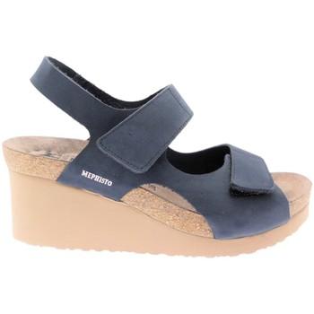 Skor Dam Sandaler Mephisto MEPHTINYbl blu