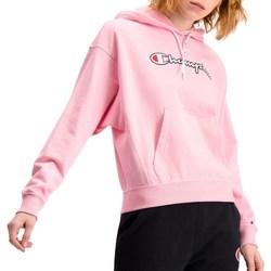 textil Dam Sweatshirts Champion Hooded Rosa