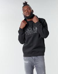 textil Herr Sweatshirts Armani Exchange 6HZMFK Svart