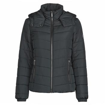 textil Dam Täckjackor Armani Exchange 8NYB12 Svart