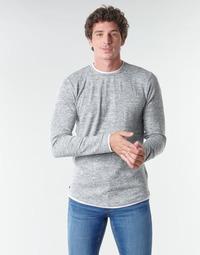 textil Herr Långärmade T-shirts Deeluxe MOHANSON Grå