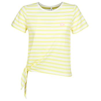 textil Dam T-shirts Only ONLBRAVE Gul