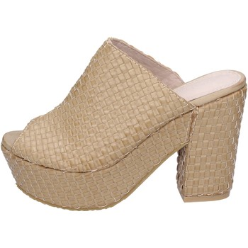 Skor Dam Sandaler Sara Lopez sandali pelle sintetica Beige