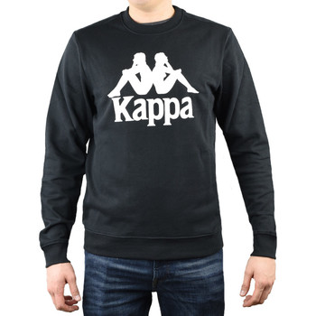 textil Herr Sweatshirts Kappa Sertum RN Sweatshirt Noir