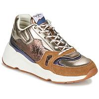 Skor Dam Sneakers Pepe jeans HARLOW SPACE Brons