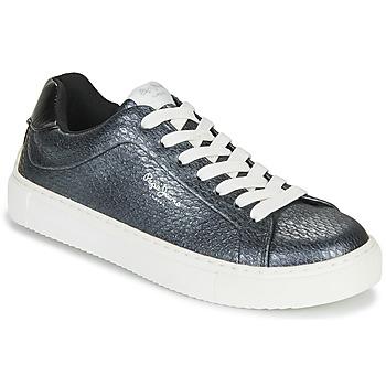 Skor Dam Sneakers Pepe jeans ADAM SNAKE Grå
