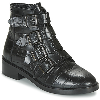 Skor Dam Boots Pepe jeans MALDON IMAN Svart